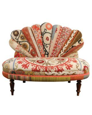 Eclectic furnishings--lovely