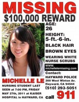 Who is Giselle Esteban? And Where is Michelle Le? (Found 9-17-2011)