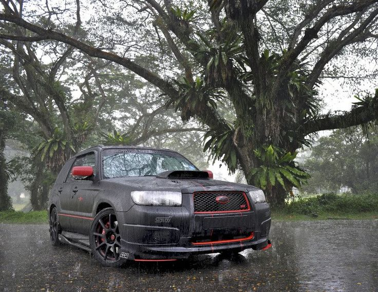 Subaru Forester STi...  Since when was a forester sexy?