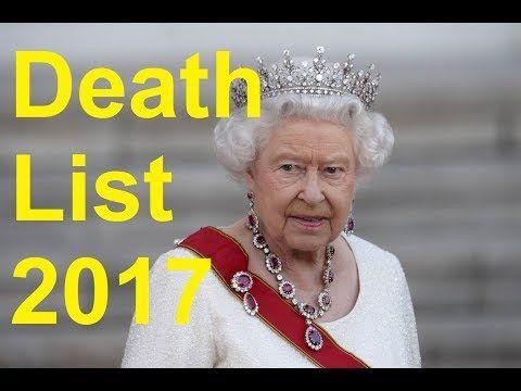 Strange Things: ILLUMiNATi - Death List 2017 - Queen Elizabeth II ...