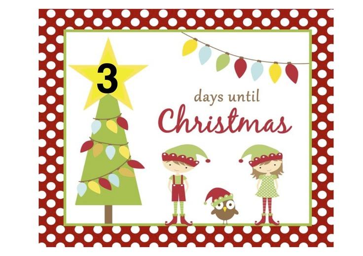 3 Days to Christmas