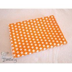 Hedush Handmade přebalovací podložka HVĚZDIČKY oranžové