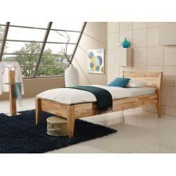 Levantos Boxspringbett, Mix aus massiver Eiche und Velourgewebe – 160 x 200 cm Möbel-EinsMöbel-Eins