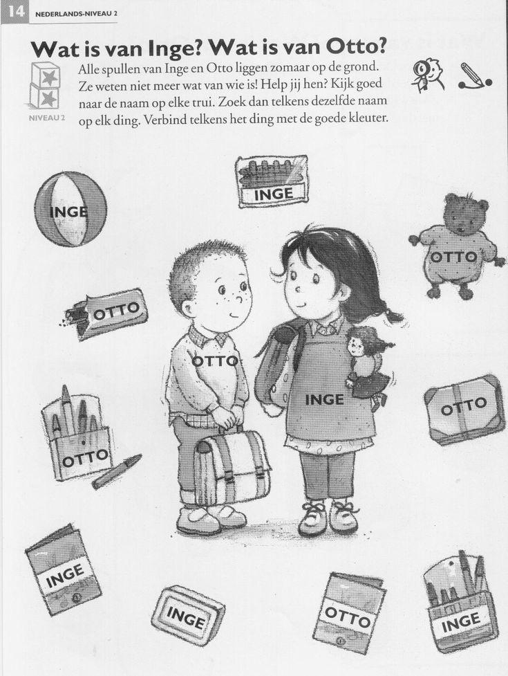 Wat is van Inge, wat is van Otto