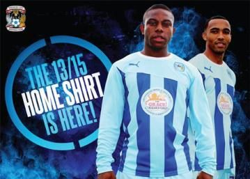 Coventry City 2013/15 PUMA Home Kit