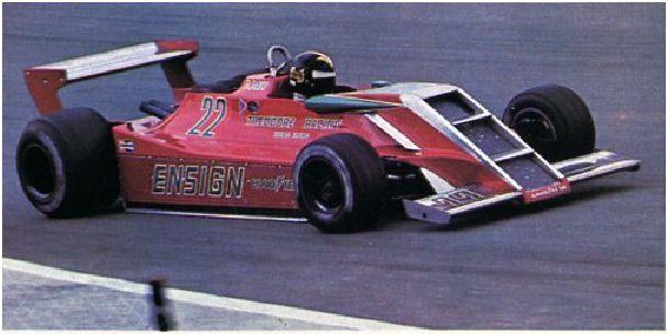 1979 Derek Daly, Ensign N179 -