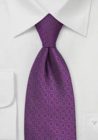 Chevalier Designer Tie in Purple