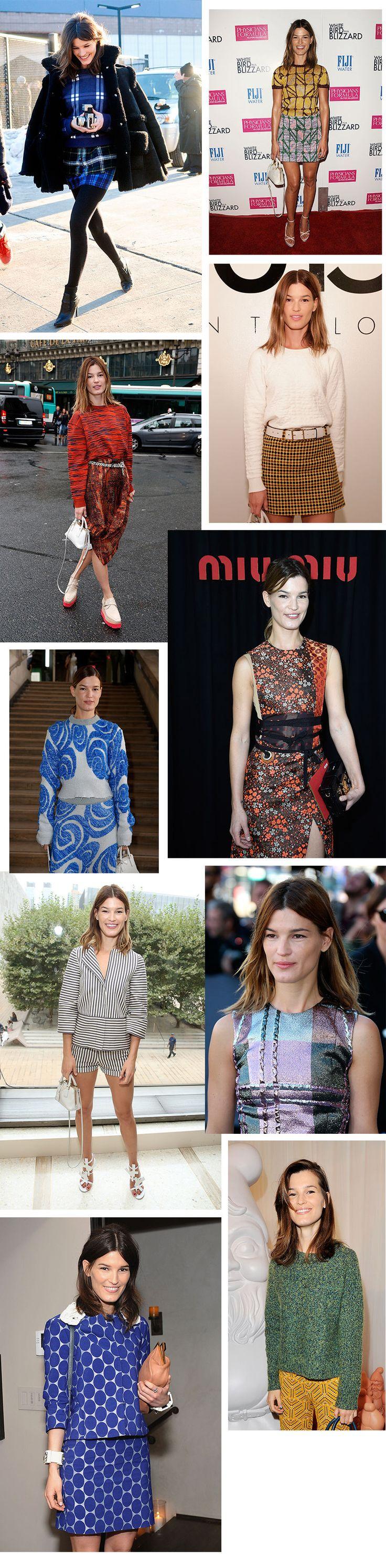 Shop stilen til Hanneli Mustaparta: mønstermix | Stylista.no Hanneli #hanneli #hannelimustaparta #style #stil #mote #fashion #fashionista #streetstyle  Mer mote på/ More fashion at  http://www.stylista.no