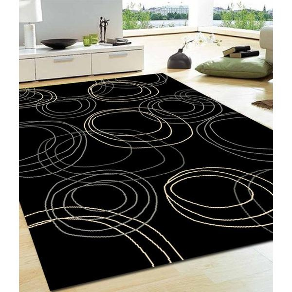 Red 5 bath rug piece set