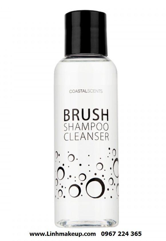 Dung dịch rửa cọ Brush Shampoo Cleanser của Coastal Scents giúp bạn làm sạch các mỹ phẩm makeup bán trên cọ giữ độ mền mịn của cọ, kéo dài hiệu suất tuổi thọ cọ trang điểm, giúp lớp trang điểm của bạn mịn đẹp hơn