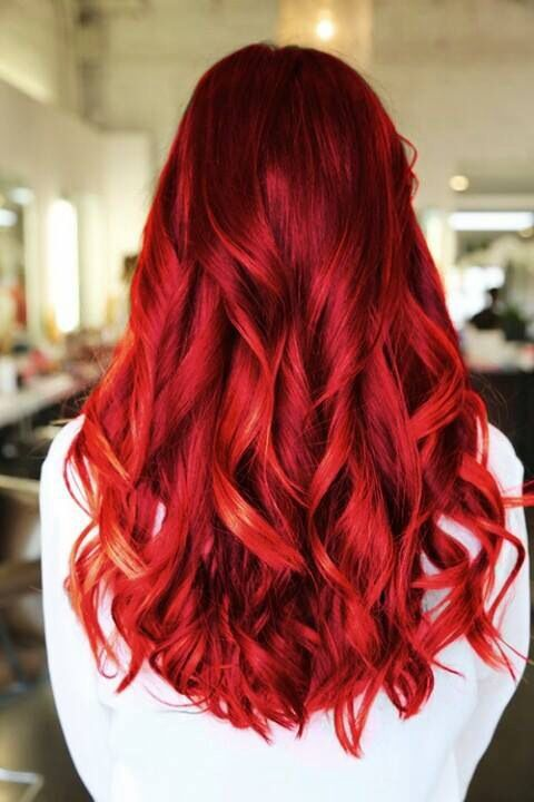 fiery red hair - maybe one day