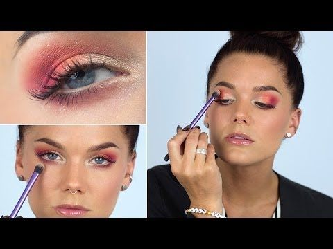 Sunset makeup (with subs) - Linda Hallberg Makeup Tutorials My dreams have come true. ...... <3
