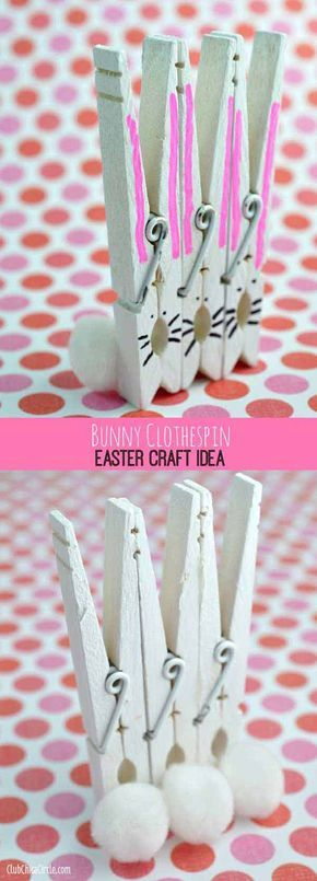 34 Best Things To Do With Clothes Pins Images On Pinterest