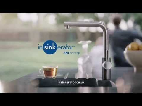 Insinkerator 3N1 Hot Tap in Chrome F-H3N1-C-1
