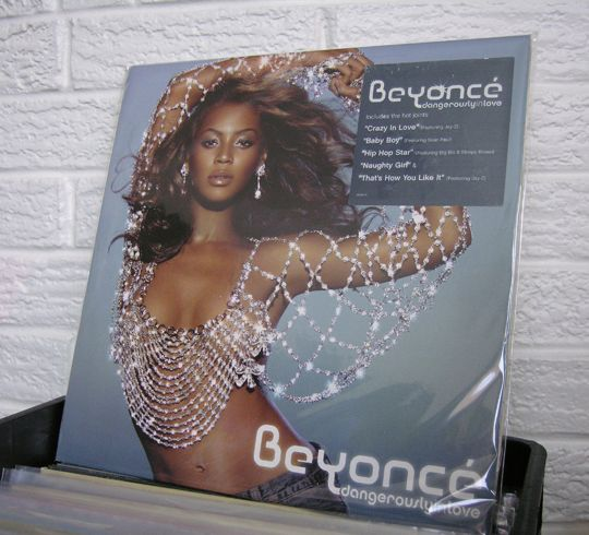 """BEYONCE """"Dangerously In Love""""  at Wild Honey Records #recordstore #knoxville #tennessee #vinylrecords #vinyl #records #beyonce #queenbey #crazyinlove #love #dance"""
