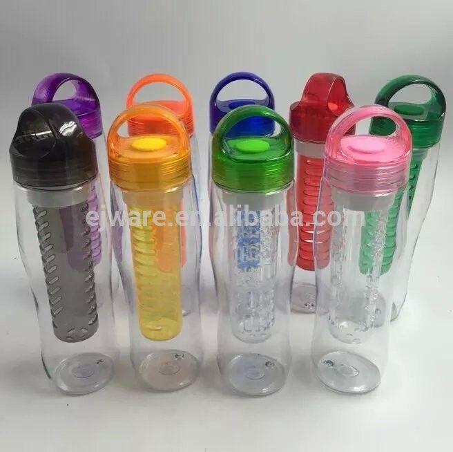 tritan joyshaker water fruit infuser bottle tritan sports bottle