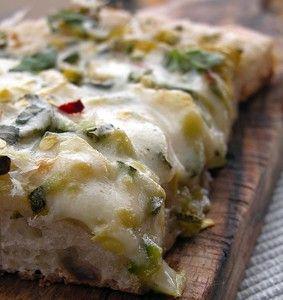 pizza con la pasta madre liquida