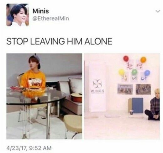 Park Jimin is a small precious human being and need to be protected all the time<<the honest truth