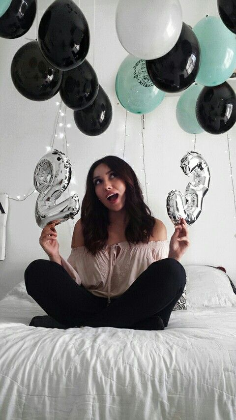 Birthday photo shoot idea