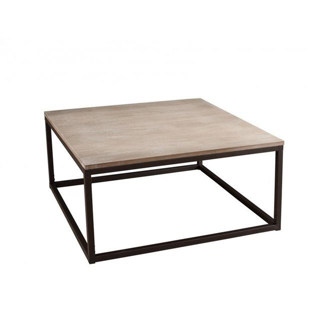10+ ideas about Table Basse Industrielle on Pinterest  Table basse bois, Tab -> Table Basse Industrielle Chariot Ptt