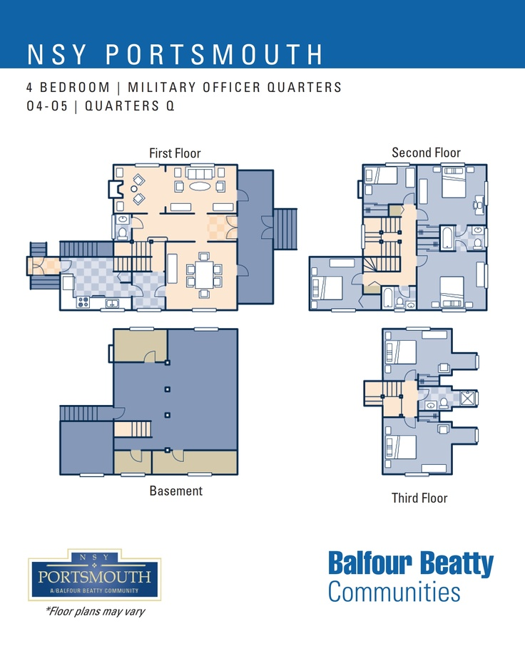 29 best nsy portsmouth kittery me images on pinterest nsy portsmouth military officers housing 4 bedroom floor plan designated for o4 o5 malvernweather Gallery