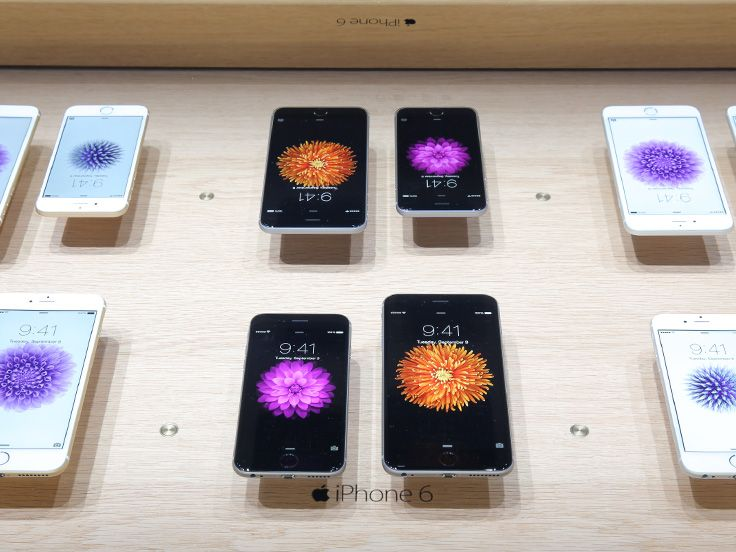 iPhone 6 in the Hands-on Pavilion at the Apple Special Event. #apple #iphone6 #applespecialevent