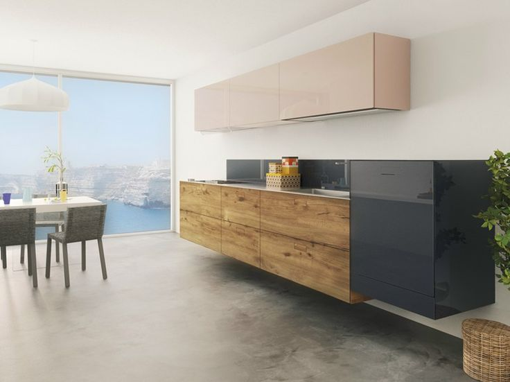 36E8 WILDWOOD Linear kitchen by Lago design Daniele Lago