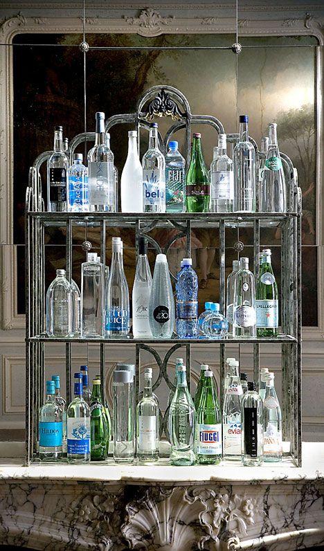 "the ""water bar"" at Claridge's Hotel"