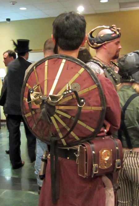 Asian Steampunk for costuming, it's all in the details.