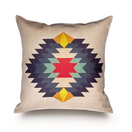 Navajo cushion.