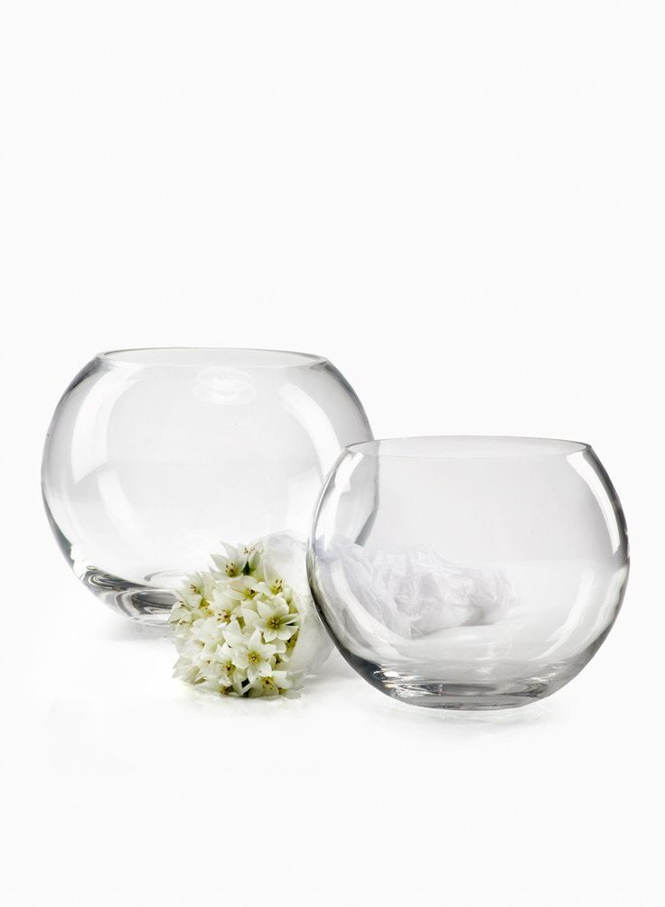 The 25 best fish bowl vases ideas on pinterest for Glass fish bowl