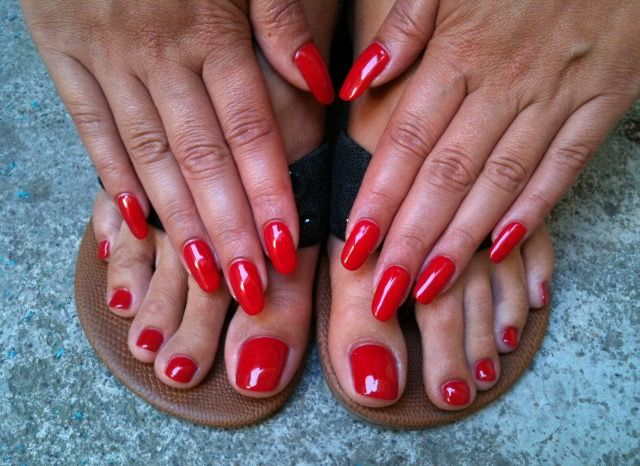 CND shellac : Hollywood VS Wildfire   Nails   Pinterest ...