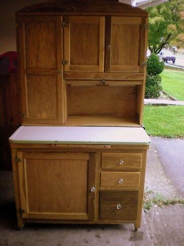 Antique hoosier kitchen cabinet kitchens pinterest for 7 x 9 kitchen cabinets
