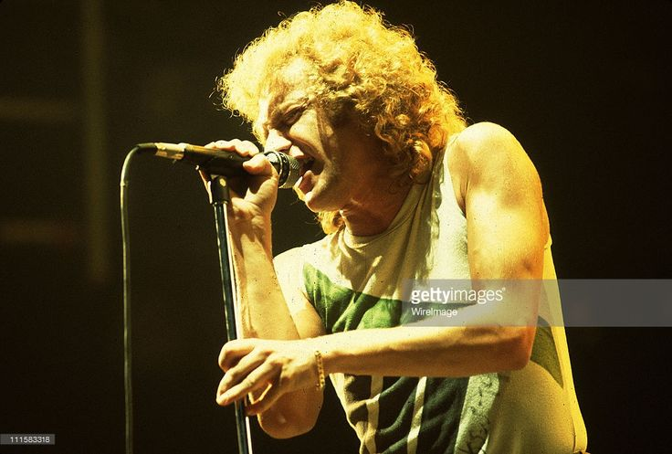 Lou Gramm of Foreigner on 11/8/81 in Chicago,Il.
