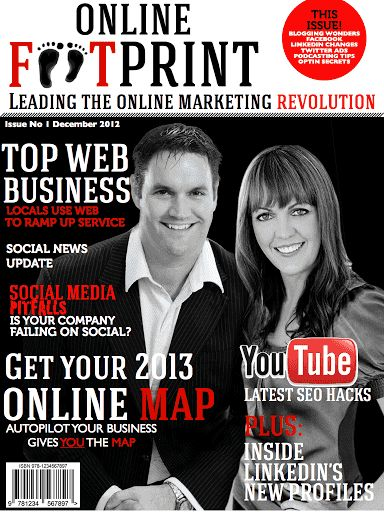 Are you using Online Marketing effectively for your Business? If you want to learn how to really ramp up your online marketing strategies from professional experts who use the internet for a living, then you need to read Online FootPrint. We will keep you up to date on the latest aspects of internet marketing, traffic strategies, website conversion and optimization, Social Media Strategies and Social media tips and tricks. We also cover the latest from Facebook, Twitter, Pinterest, Google…