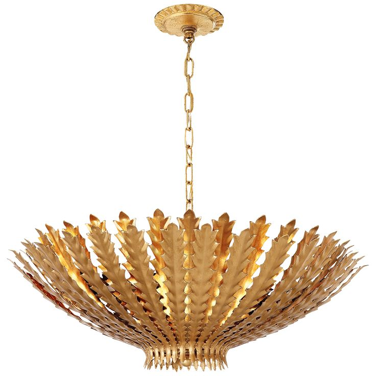 Shop for Visual Comfort ARN AERIN Casual H&ton Large Chandelier in Gild at Foundry Lighting  sc 1 st  Pinterest & 16 best Historic Lincoln Park Row Home images on Pinterest ... azcodes.com