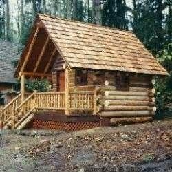 Tons of PreFab log cabin kit website listings, | For My ...