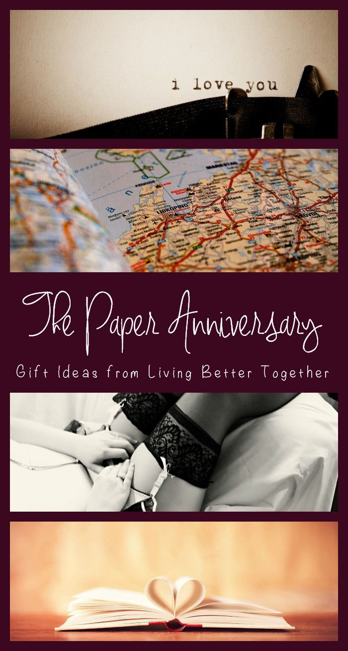 Gifts for a first year wedding anniversary