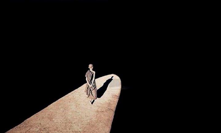 ... own shadow