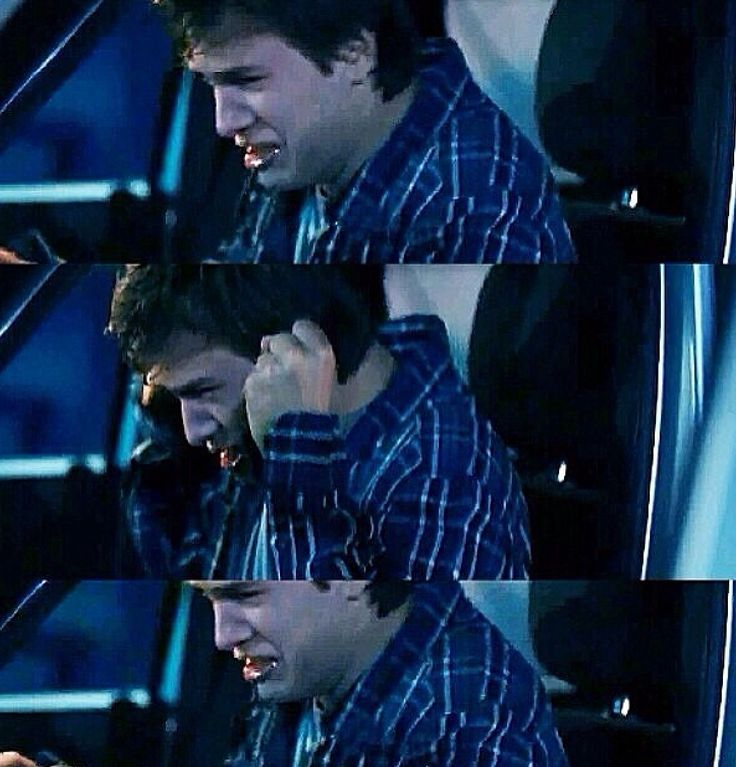 gus at the gas station scene the fault in our stars