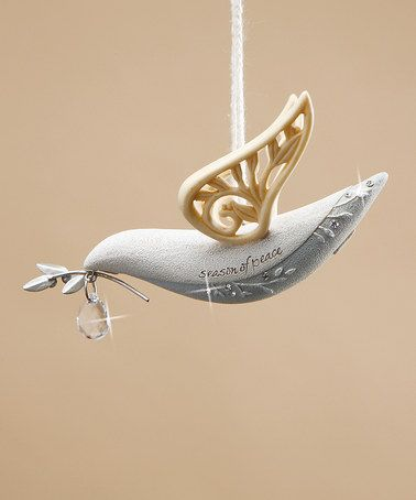 This Dove 'Season of Peace' Ornament by Enesco is perfect! #zulilyfinds