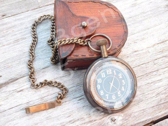 Lo sposo orologio da tasca inciso uomo orologio da di Bgenius15