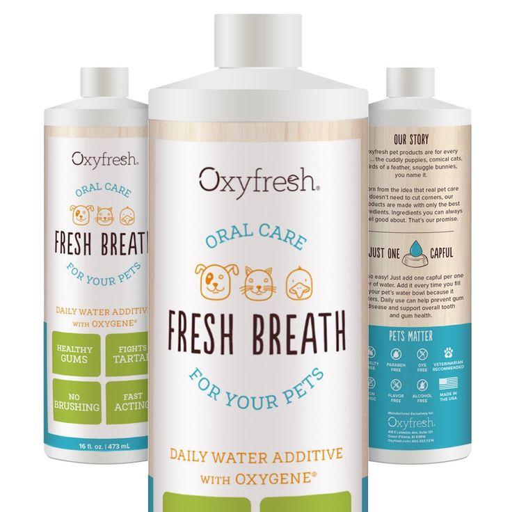 Oxyfresh Premium Pet Dental Care Solution 16oz Best Way