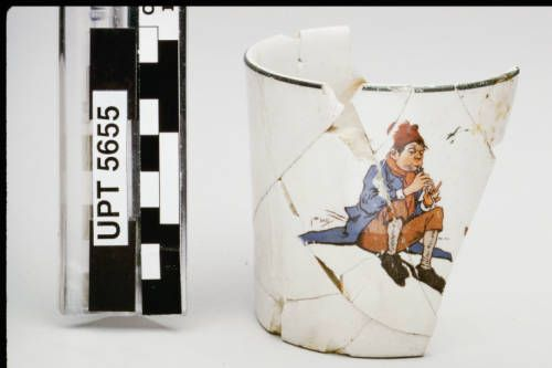 Page 1 :: Child's mug :: Chinese Historical Society of Southern California Collection, ca.1880-1933. http://digitallibrary.usc.edu/cdm/ref/collection/p15799coll73/id/681