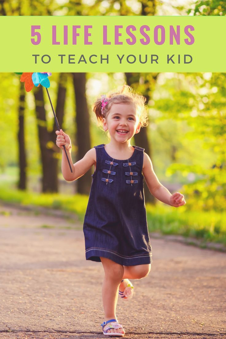 Every parent wants the best for their kids. Here are the 5 best and most important life lessons you can teach your child.