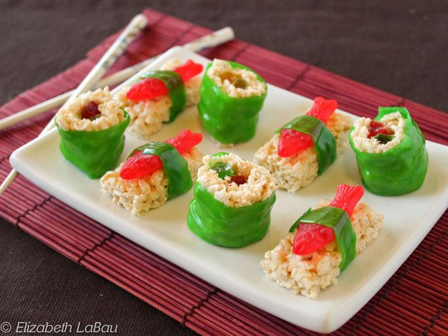 Make Adorable Candy Sushi Treats That No One Can Resist