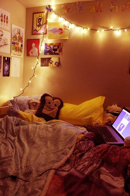 Indie Room | Tumblr · Lichterketten DekoSchlafzimmerdekoSchlafzimmer IdeenGemütliches  SchlafzimmerHübsches SchlafzimmerHipster ...