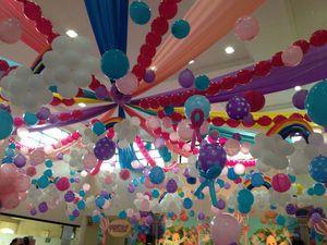 幼稚園の謝恩会の飾り付けの方法。風船や ...