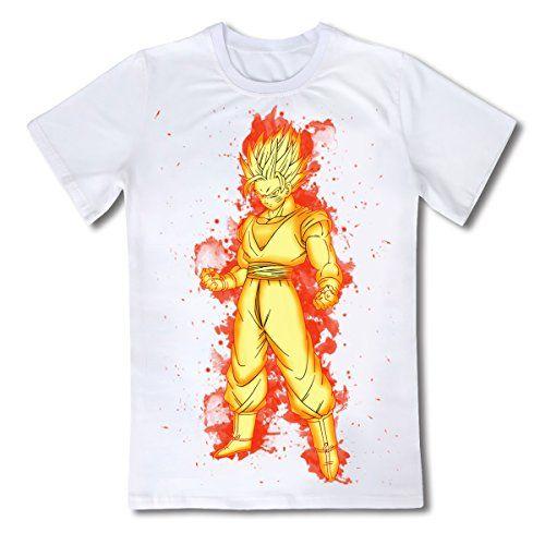 CoolChange Camiseta de Dragon Ball, Tema: Super Saiyaijn, Talla: L #camiseta #starwars #marvel #gift