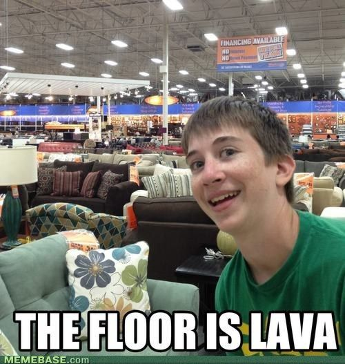 Hahah! Just play this in Ikea, it would be perfect!! XD